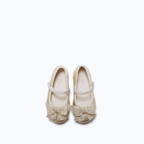 Image 4 of BALLERINAS WITH BOW from Zara
