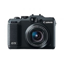 Canon Powershot G15  - 12.1mpx, zoom optic 5x, LCD 3