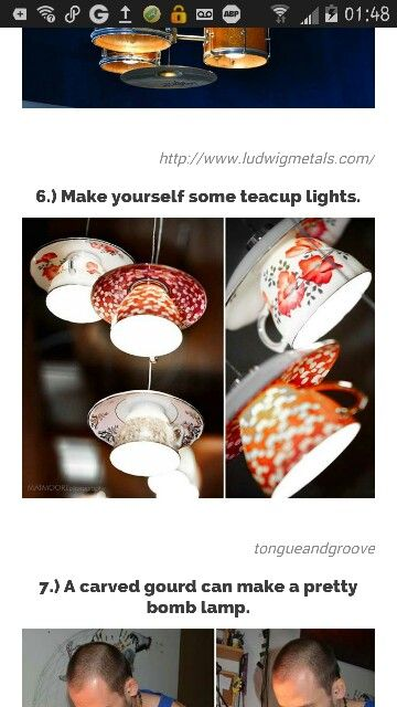 It's tecup lights. What's not to love?!