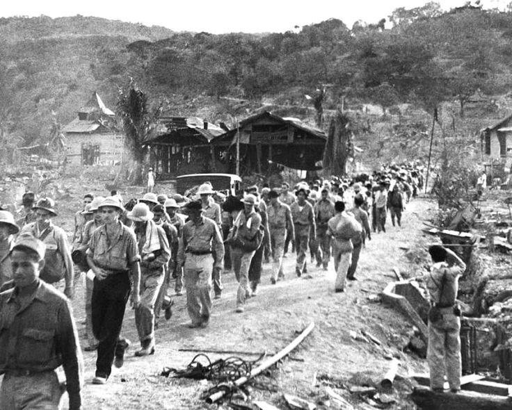 This march was named the Bataan Death March because of the high number of brutal and gruesome deaths along the road at the hands of the Japanese.