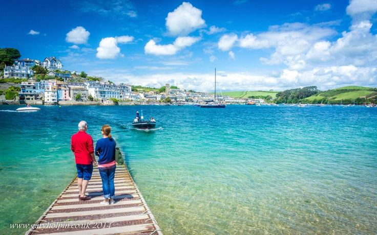 Waiting for the ferry - beautiful Salcombe, Devon