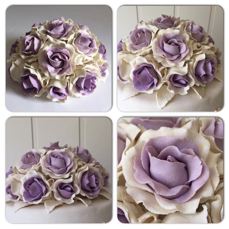 Marsipan rose marzipan decoration caketopper
