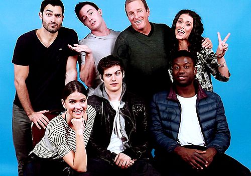 Shelley Hennig and the 'Teen Wolf' cast at HowlerCon 2015.