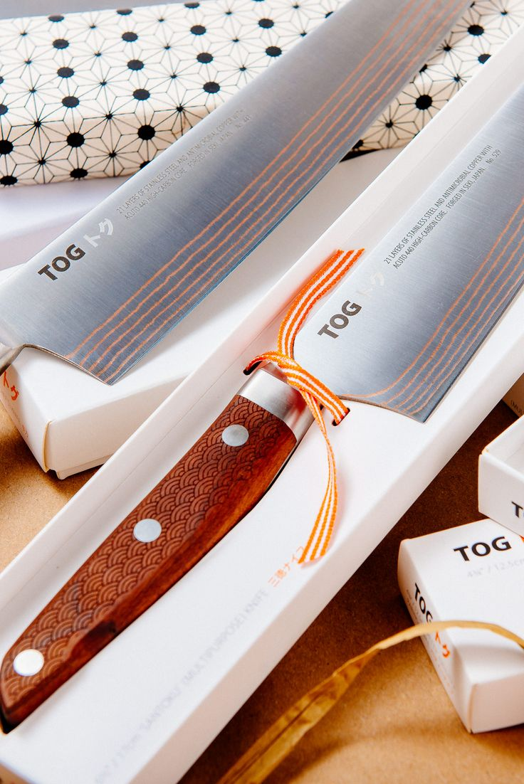 TOG Japanese Kitchen Knives  Gift wrapping service available for Xmas orders :)  #TOG #togknives #chefknives #chef #knife #knifecommunity #knifepics #kitchen #kitchenideas #kitchenknives #knifecollection #japan #japaneseknives #gyuto #sujihiki #petty #santoku