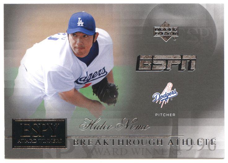 Hideo Nomo # AW 8 - 2005 Upper Deck ESPN Baseball ESPY Award Winners