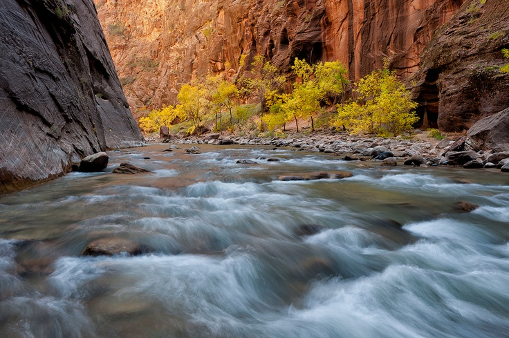Fall in the Narrows