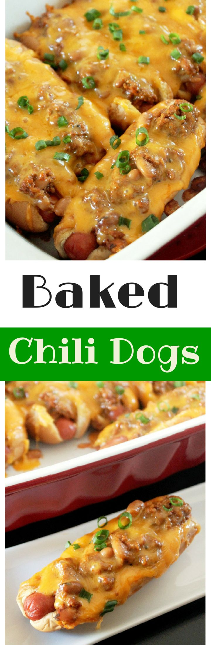 Baked Chili Cheese Dogs-Creole Contessa