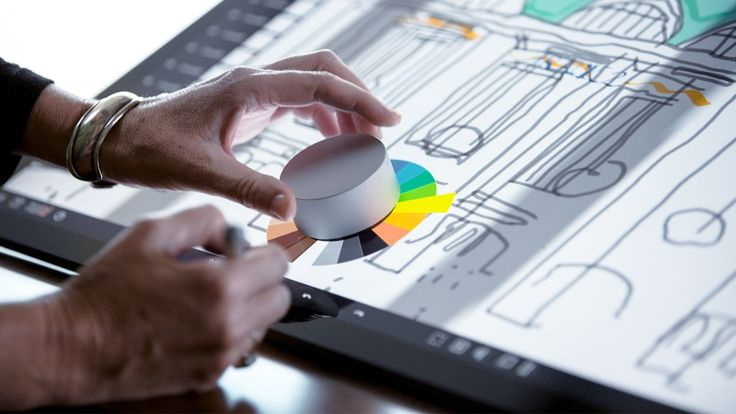 Microsoft's dial is the perfect accessory for the Surface Studio