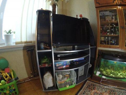 Тумбочка под телевизор  многополочная. - YouTube