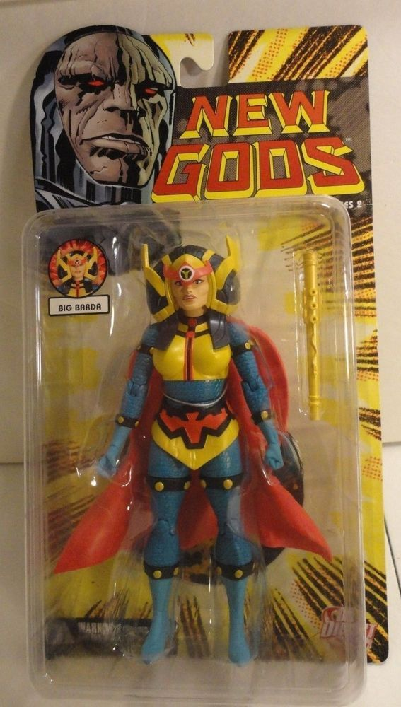 """DC Direct New Gods series 2 Big Barda Jack Kirby character 6"""" action figure moc #DCDirect"""