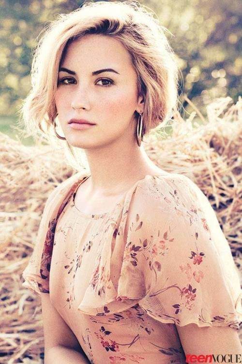 Demi Lovato. If you don't know who she is, I'm so sorry!