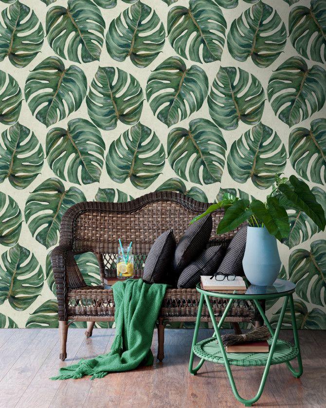 TROPICAL LEAF Premium Wallpaper