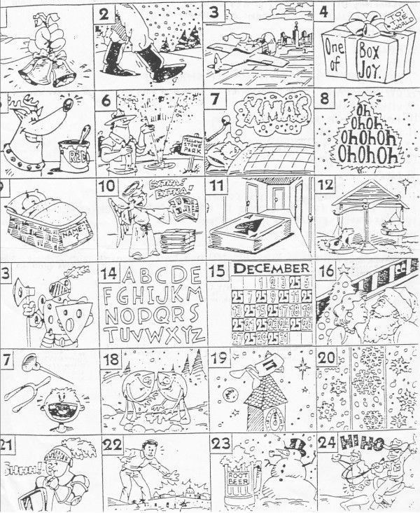 Christmas Carol Brain Teasers Worksheets – Today's Update