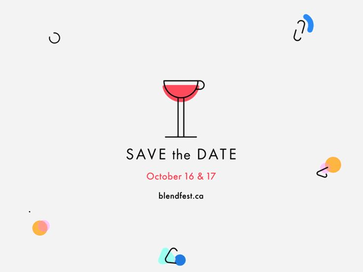 SAVE the DATE Animation
