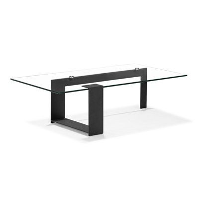 Zeon Coffee Table By Zuo Modern   Fall In Love With The Long, Asymmetrical  Lines Running Through The Zeon Coffee Table. With A Clear Tempered Glass  Top And ...