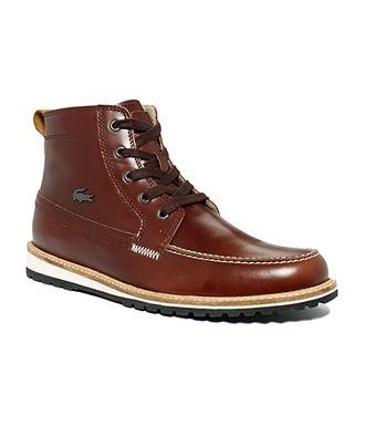 $170 Lacoste Shoes, Marceau 3 Boots - Mens Shoes - Macy's