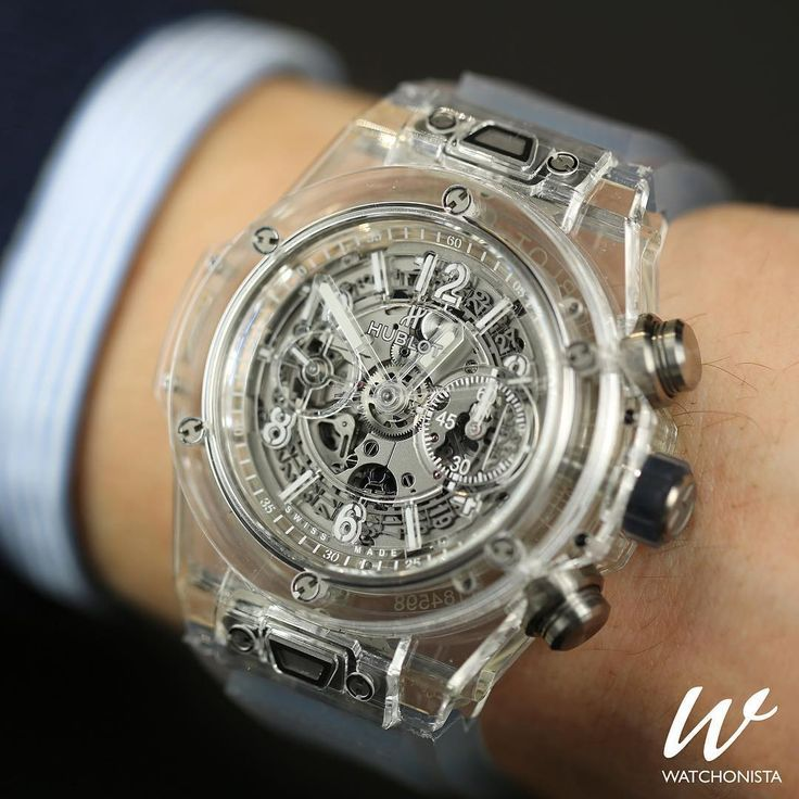 Hublot Big Bang Unico, made of Sapphire.