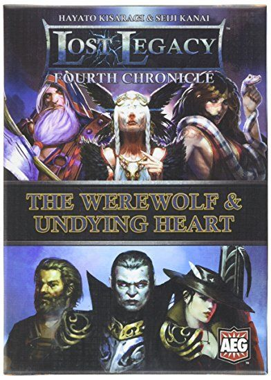The Lost Legacy Fourth Chronicle: Werewolf & Undying Heart Card Game