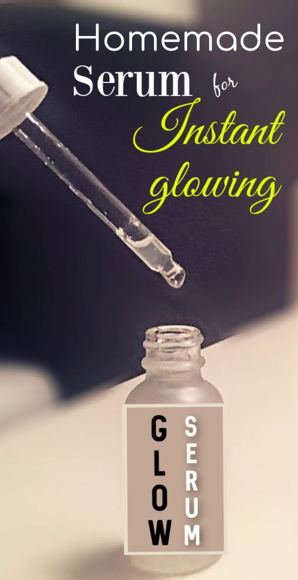 Magical homemade serum for instant glowing & whiten skin
