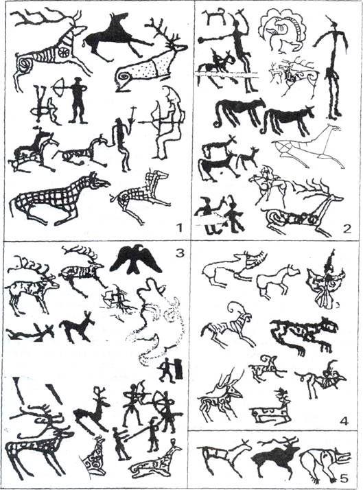 Prehistoric sticky men hunter tattoo... that be great