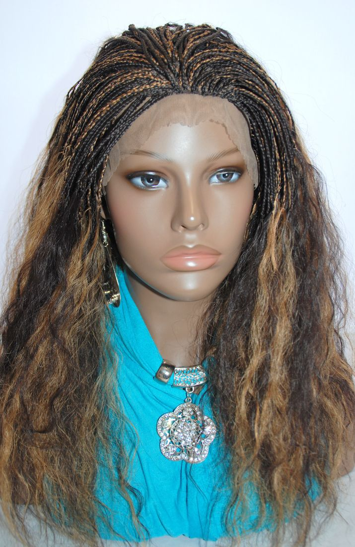 Braided Lace Front Wig Micro Braids http://www.camoaccessory.com/braided-lace-front-wig-celina427l17.html