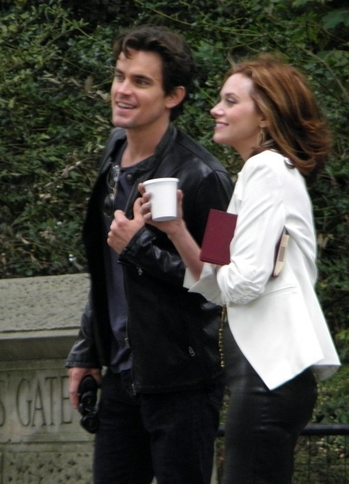 White Collar - if matt bomer wasn't gay, these two would make the best/hottest couple pretty much ever