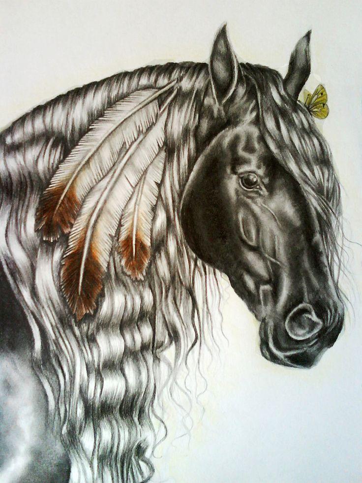 Indian+horse+by+youngmoons.deviantart.com+on+@deviantART