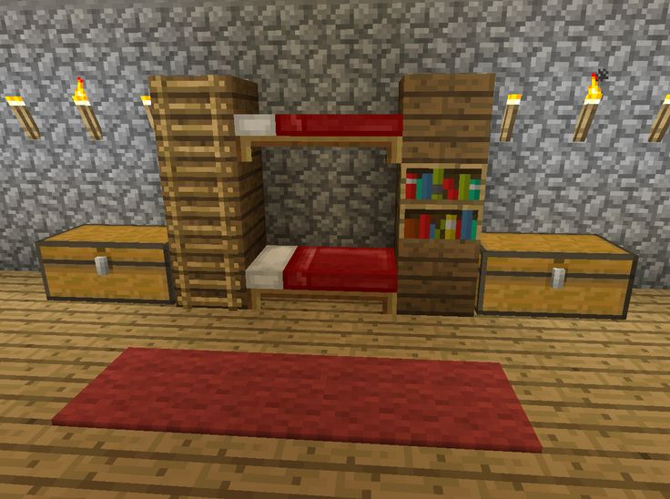 Minecraft Bunk Bed Furniture                                                                                                                                                                                 More