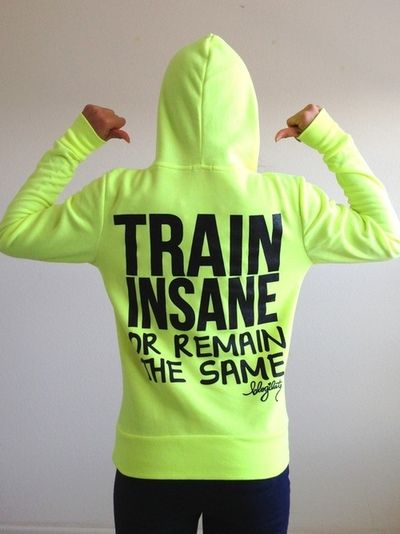 Train Insane or Remain the Same! http://www.draxe.com #fitness #health #body Find more like this at gympins.com