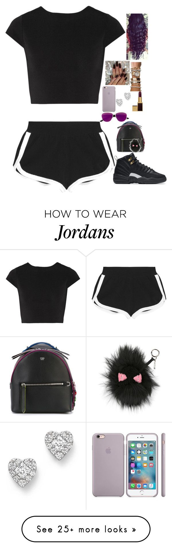 """Untitled #315"" by madeforfashion on Polyvore featuring Alice + Olivia, Fendi, NIKE, Rolex, Bloomingdale's, Christian Dior and Tom Ford"