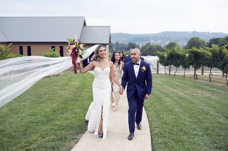 Just Married!  //Lost in Love photography   #vueonhalcyon #yarravalley #winery #wedding