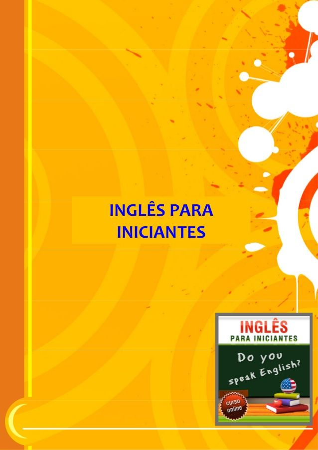Apostila inglês para iniciantes2