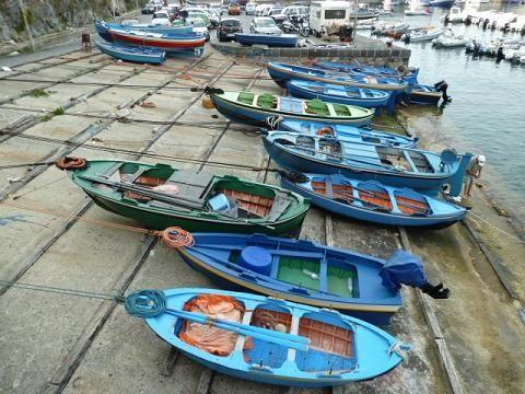 Scilla: halászhajók/fishing boats
