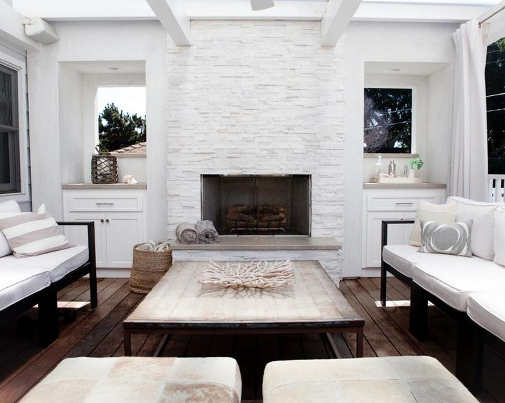 Modern Stone Fireplace Designs: 25+ Best Ideas About Painted Stone Fireplace On Pinterest
