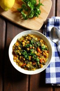 Recipe: $5.92 | Per Serving: $1.48 | Yield: ~4 | Jump to Recipe We are kicking off #vegansoupweek with one of my favorite easy lentil dishes – Lemony Lentil Stew! It's pack with vegetables and flavor, and the lemon really shines! This dish is really simple, and you can bulk it up with additional vegetables,...Read More »