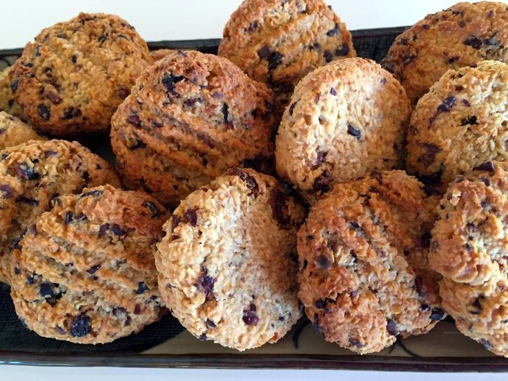 "Honey, Coconut and Oat Cookies - dairy free, nut free, wheat free, refined sugar free ... to be enjoyed ""freely"" and great for lunch boxes too ..."