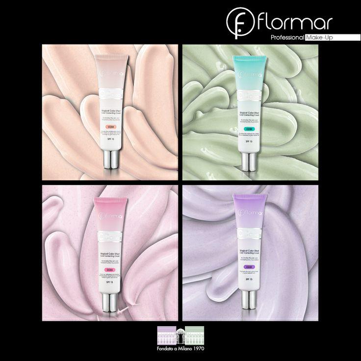 FLORMAR CC CREAM MAGICAL COLOR EFFECT COLOR CORRECTING CREAM SPF15 www.flormar.com