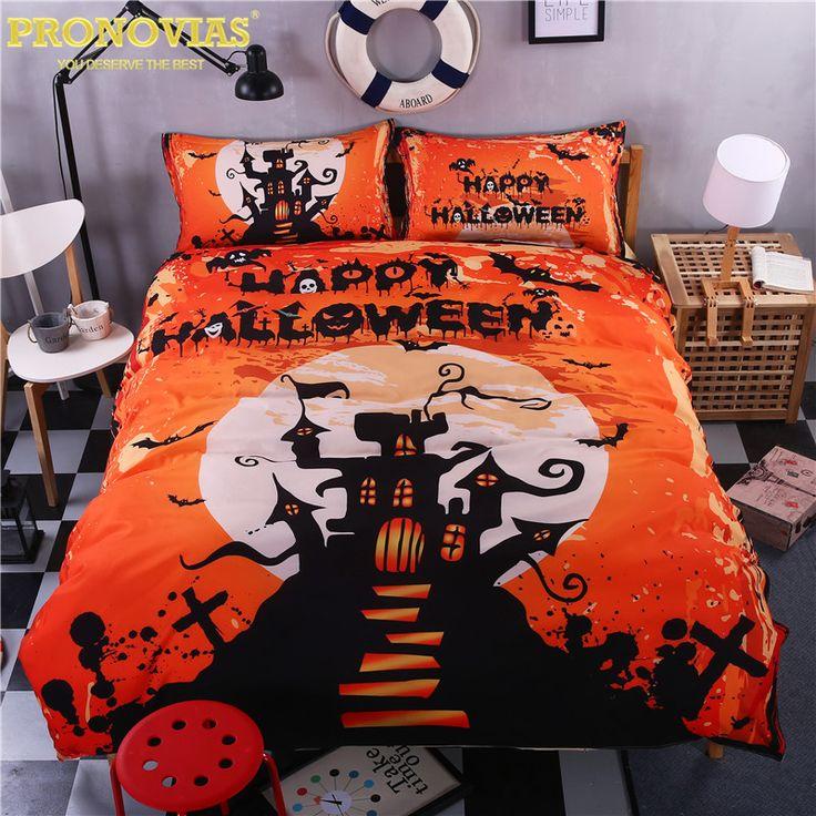 halloween wizzard children bedding set duvet cover pillow cases king queen double twin size 3pcs