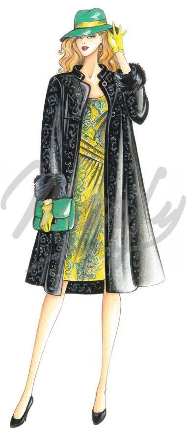Sewing pattern Dress 2883
