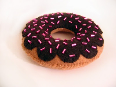 donut feutrine