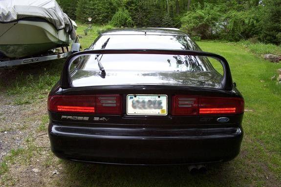 Oem Raised Spoiler Ford Probe Ford Probe Probe Ford