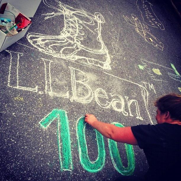 Chalk art - L.L.Bean: Photo Features, Llbeanpr L L Beans, Features L L Beans, Features Llbean