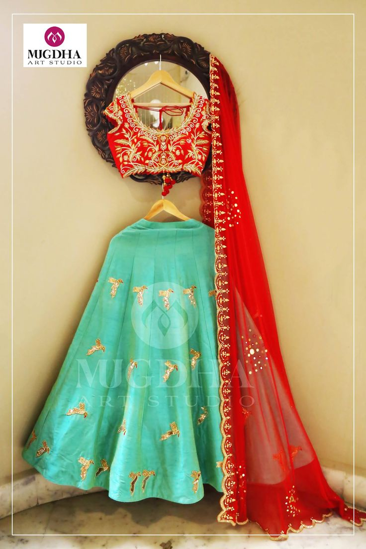 Raw silk lehenga and lovely blouse with Perfect color combination and hand made embroidery design. They can customize the color and size as per your requirement.Product code - LHG 295To Order : Whatsapp +91 8142029190/ 9010906544 For Call: 8899840840 (IVR) 03 August 2017