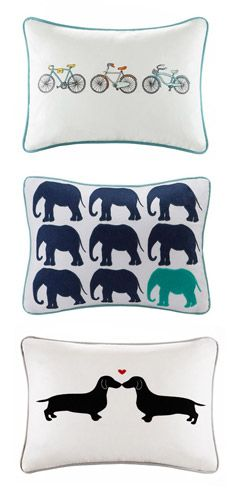 Pillow Talk Tuesday | Oblong Pillows - https://www.lucialighting.com/lighting-trends-2/pillow-talk-tuesday-obling-pillows - These decorative oblong pillows can add splash of fun into any room.  Come into lucia lighting & design to see the large selection of decorative pillows!