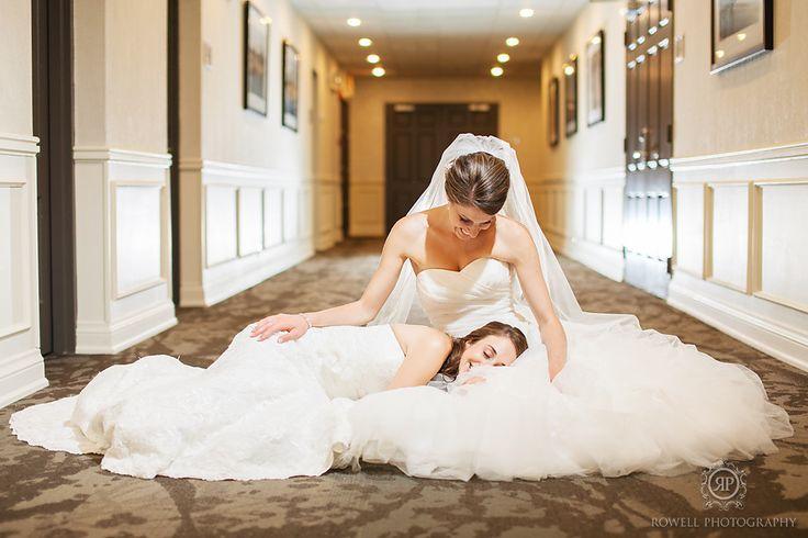 cute brides wedding photos