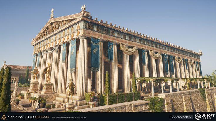 ArtStation - Assassin's Creed Odyssey - Limestone Temple ...
