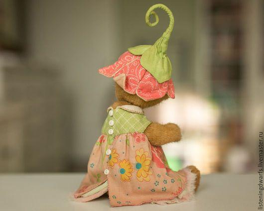 Teddy Bears handmade. teddy bear chloe, designer toy, plush. Aleksandra Kulikova (listeningdwarfs). Online shopping on My Livemaster. #teddy #bear #teddybear #handmade #artdoll #ooakteddy #toy #bunny #teddybunny #rabbit #teddyrabbit #motherday