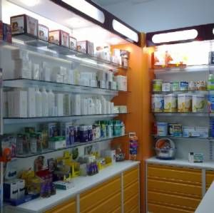 Diseño de mobiliario para farmacias