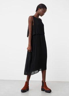 Lejąca sukienka