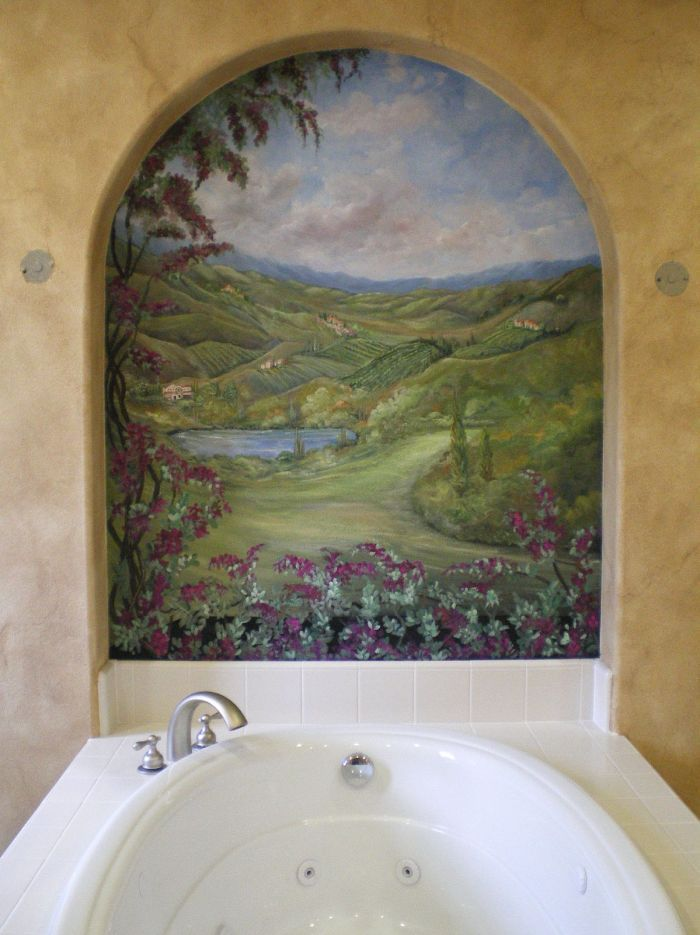 17 Best Images About Bathroom Murals On Pinterest Beach